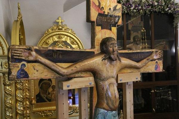 Животворящий крест господень в годеново молитва