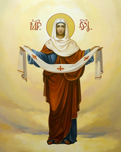 "Молитва ""Богородица дева радуйся"" текст на русском языке"