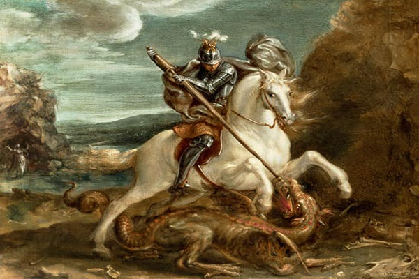 Георгий победоносец иконы молитва