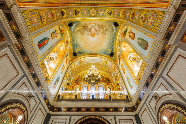 Храм Христа Спасителя архитектура