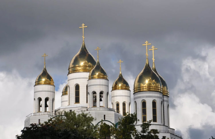 Храм Христа Спасителя купола