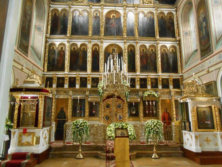 Храм Илии Пророка в Черкизове внутри1
