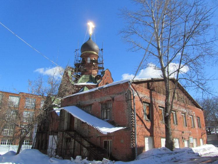Храм Рождества Иоанна Предтечи в Сокольниках.