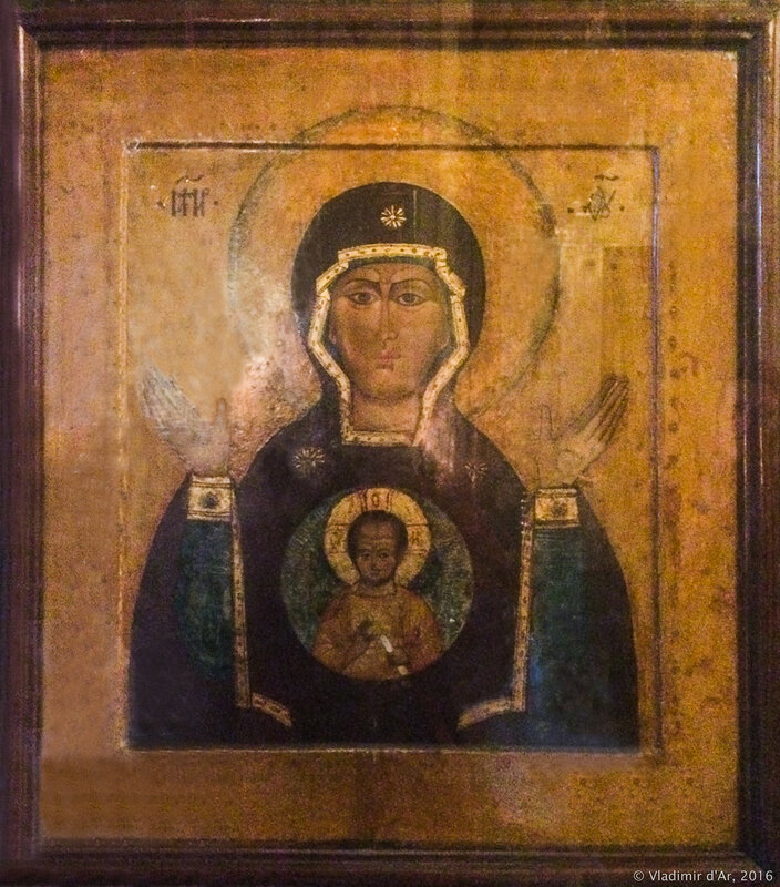 Храм Знамения на Рижской икона Богородице