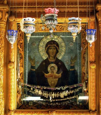 Икона Неупиваемая Чаша в Серпуховском монастыре