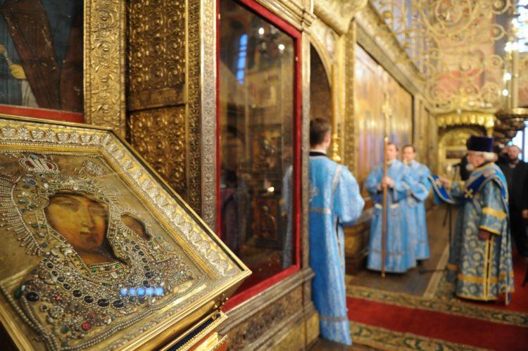Казанский Собор на Красной площади - икона Божией Матери