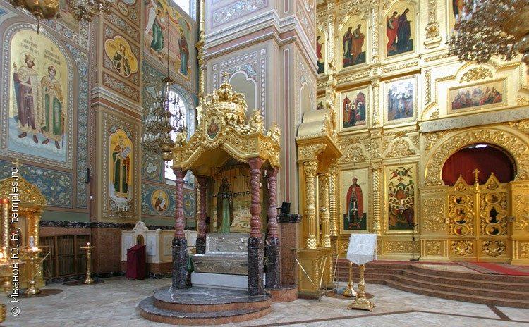 Николо Угрешский монастырь святыни