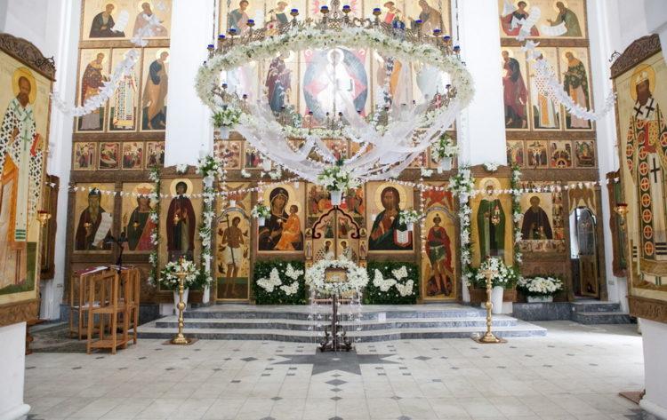 Свято-Елисаветинский монастырь внутри