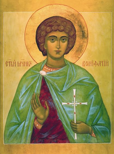 Святой-мученик-Вонифатий-Тарсийский