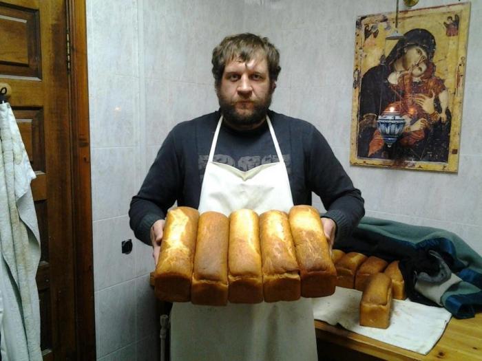 Монастырский хлеб Матроны Московской