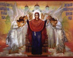 Икона Богородице Нерушимая Стена