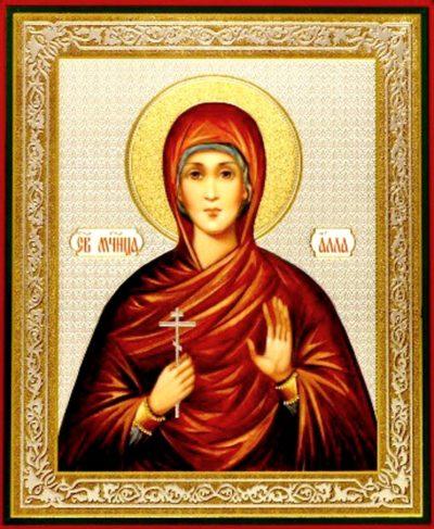 Икона святой Аллы