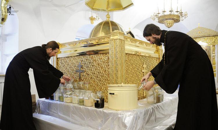 Приготовление святого миро-svyatogo-mira