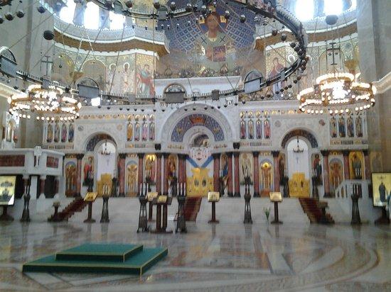 Никольский собор внутри