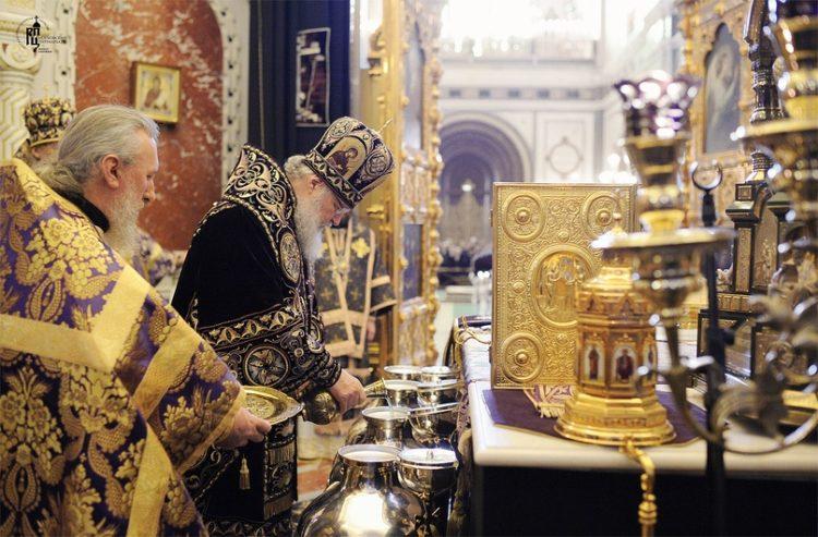 Значение святого мира для церкви