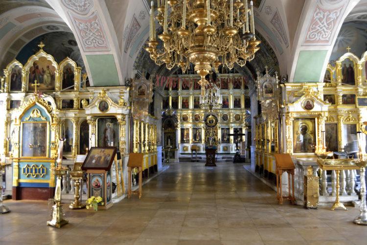 Храм Иоанна Предтечи на Пресне внтури