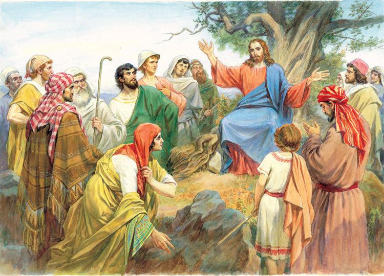 Иисус Христос о церковной десятине