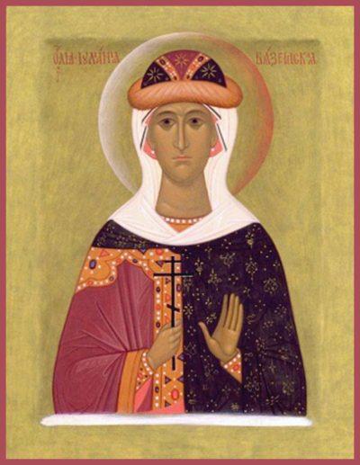 Икона Иулиании Вяземской, Новоторжской
