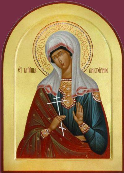 Икона Святой мученицы Виктории Никомидийской