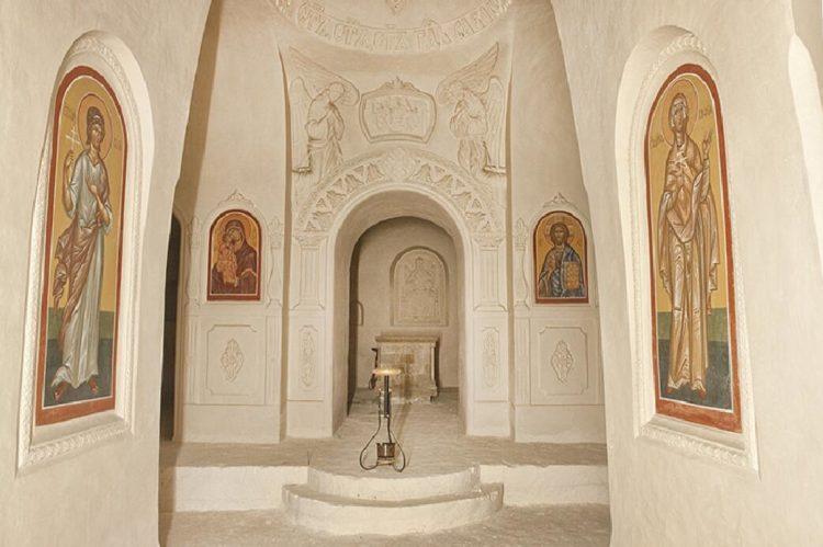 Костомаровский Спасский монастырь внутри