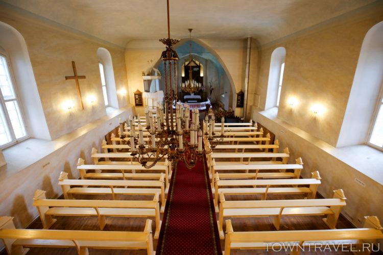 Лютеранска Церковь внутри