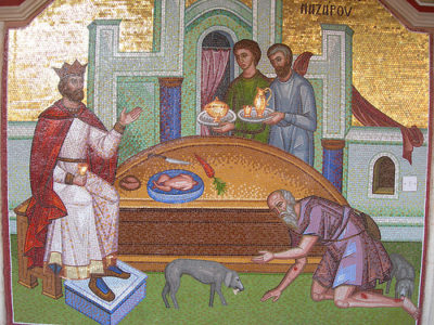 Притча о богаче и Лазаре в Библии