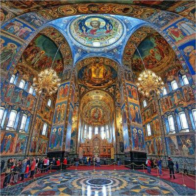 Спас на Крови Санкт Петербург внутри