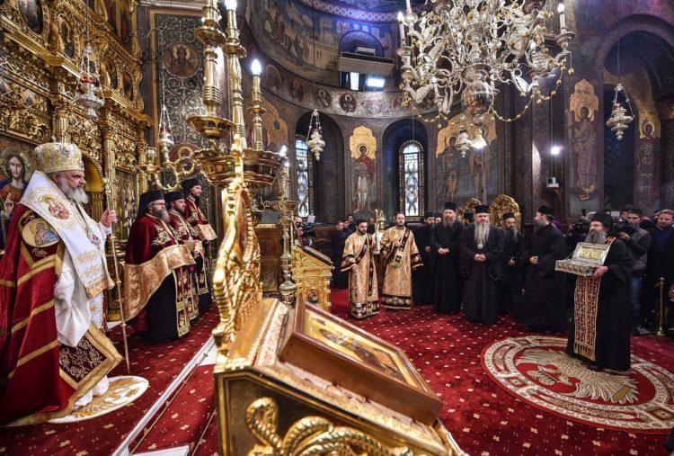 Румынская православная церковь святыни