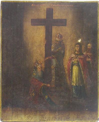 «Воздвижение Честного Креста», XIX - ХХ век, Россия.